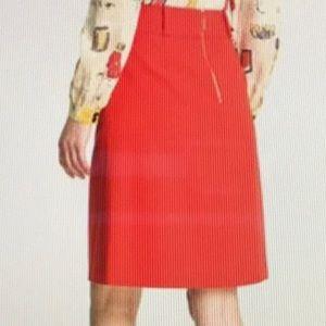 Kate Spade wool A line skirt